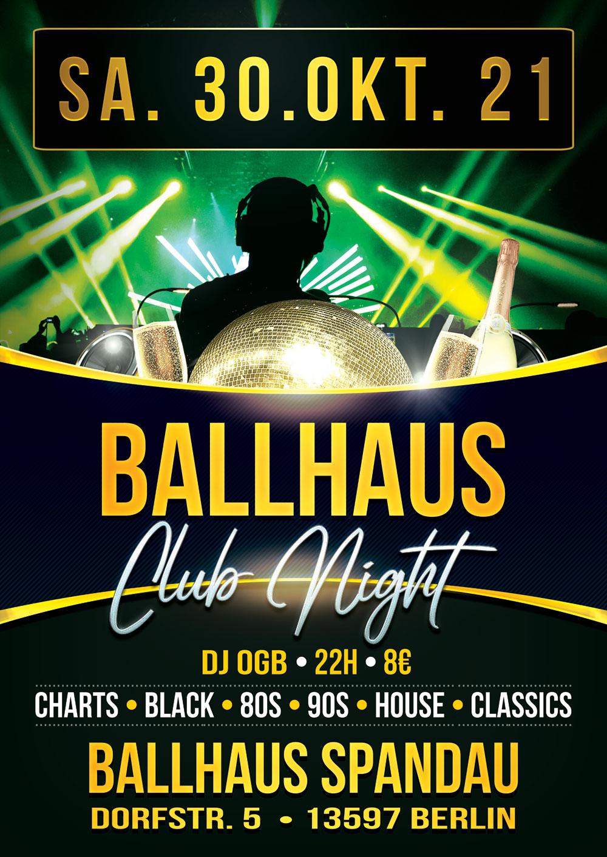 Ballhaus Club Night