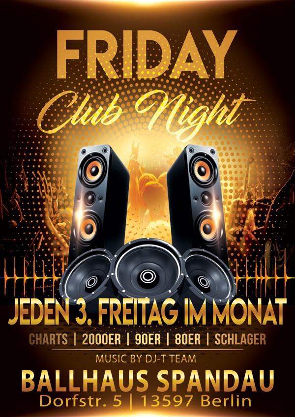 Friday Club Night